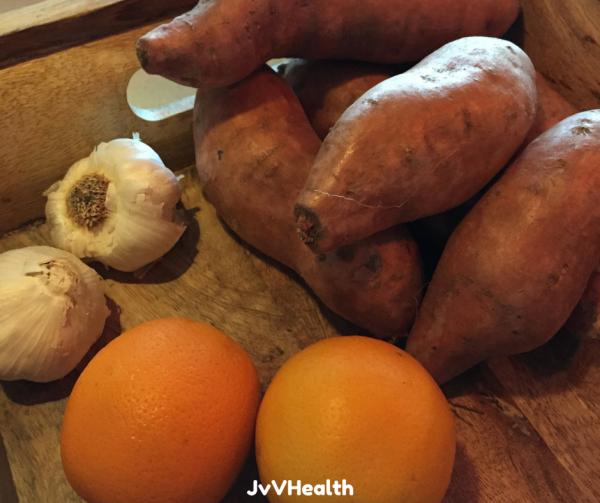 Sweet Potato Bisque Ingredients