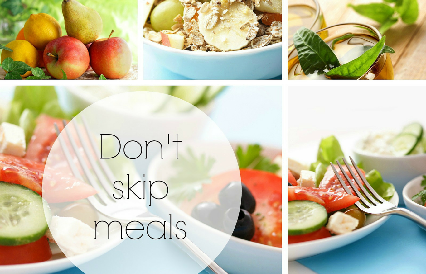 Challenge Don't skip meals