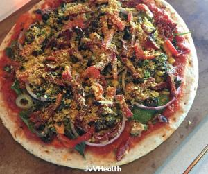Supreme Veggie Pizza