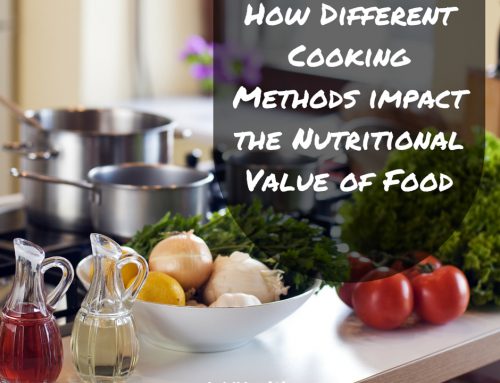 How different cooking methods impact the nutritional value of food
