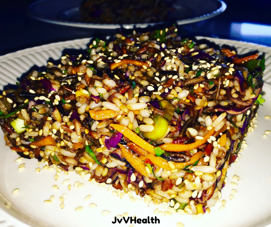 Asian Wild Rice Salad
