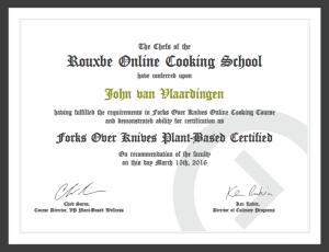 FOK Certificate