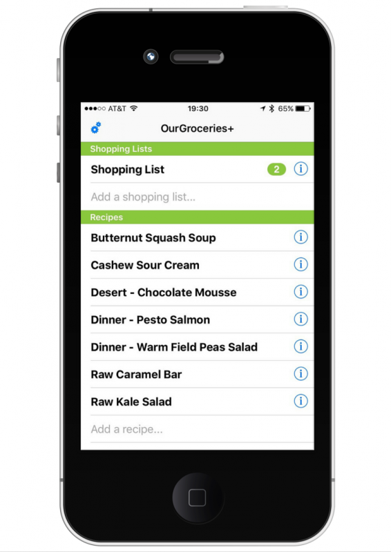 OurGroceries App