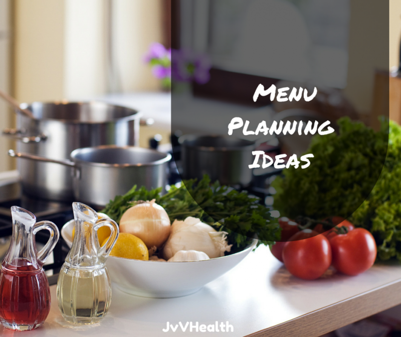 Menu Planning Ideas