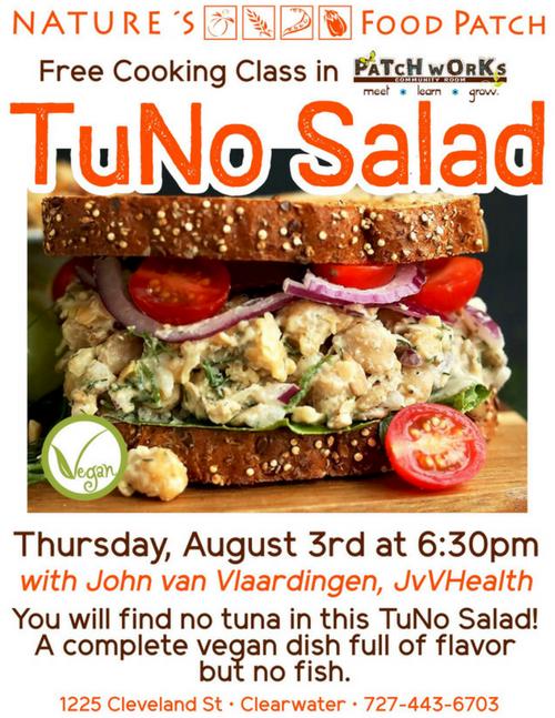 TuNo Salad Flyer