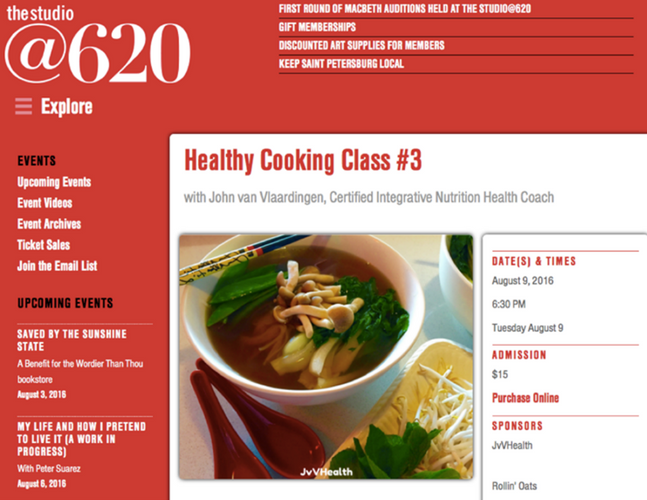 620 cooking classes