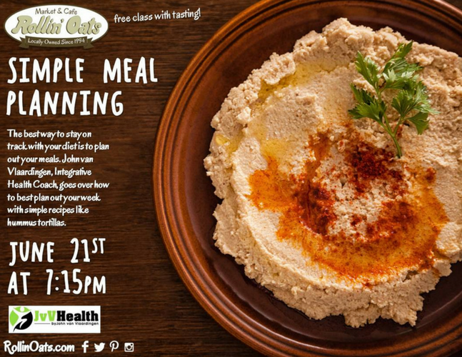 Meal Planning Flyer