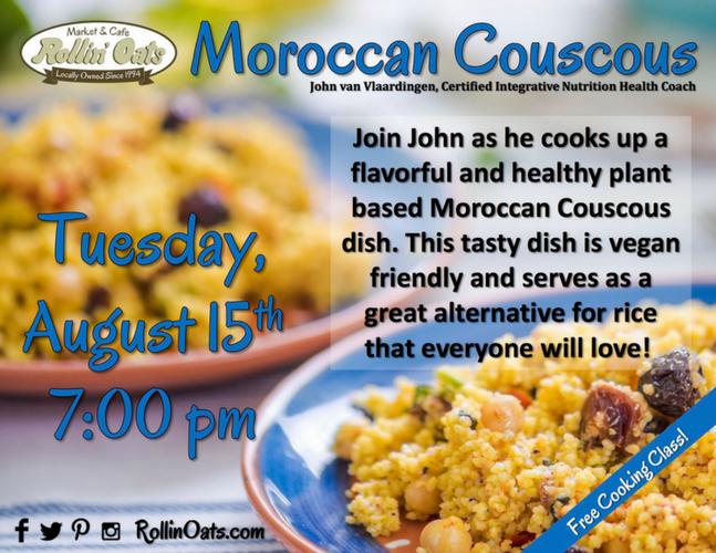 Moroccan Couscous Flyer