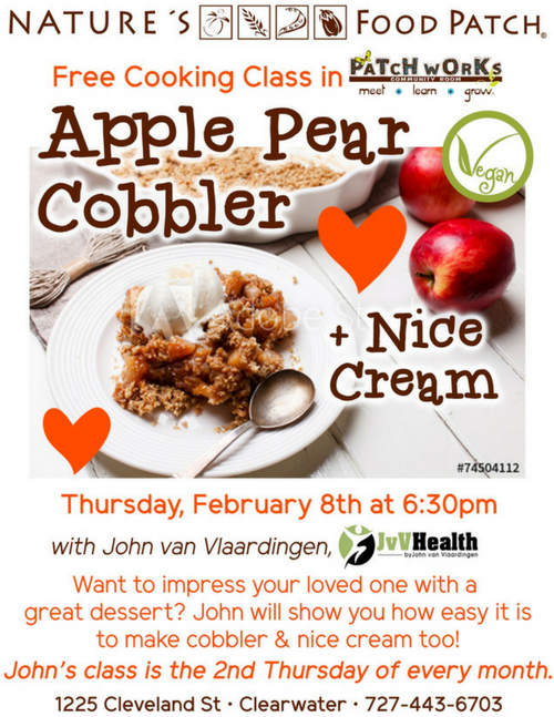 Flyer - Apple Pear Cobbler