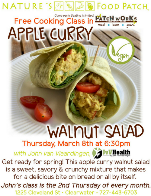 NFP Apple Curry Walnut Salad